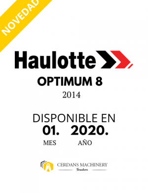 HA OPTIMUM 8 2014 PROXIMAMENTE